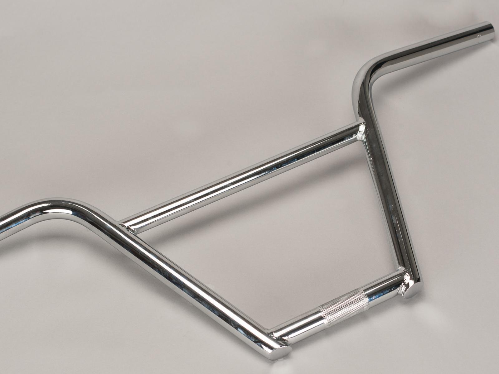 Manillar Mini BMX Rocker 4 Piezas Cromado