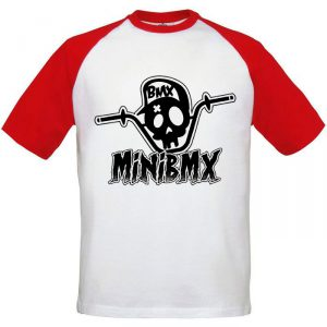 Camiseta Beisbol MiniBmx Roja